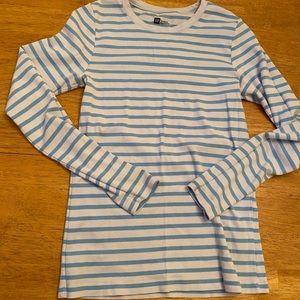 Gap Favorite long sleeve striped shirt nice sz L